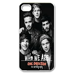 Customize Famous Band One Direction Back Case For Iphone 4 4S case cover KHR-U593265