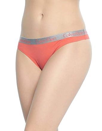 ee04ec205a Calvin Klein Underwear Women s 3 Pack Radiant Cotton Thongs
