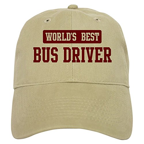 Best Driver Bus Worlds (CafePress - Worlds best Bus Driver Cap - Baseball Cap with Adjustable Closure, Unique Printed Baseball Hat)
