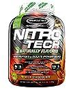 Cheap MuscleTech Nitro Tech Naturally Flavored Whey Protein Powder, Milk Chocolate, 4 Pound
