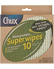 Chux Chux Biodegradable Superwipes 10 pk, 0.115 kilograms, Pack of 10