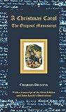 Image of A Christmas Carol - The Original Manuscript - With Original Illustrations