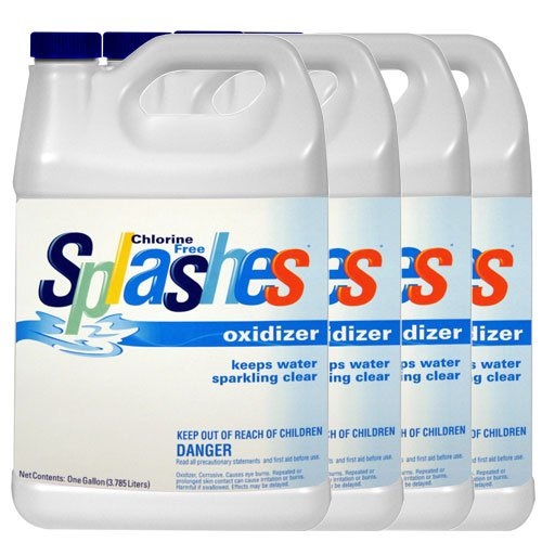 Splashes Chlorine-Free Pool Chemical Shock and Oxidizer – 4 Gallons, Appliances for Home
