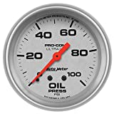 Auto Meter 4421 Ultra-Lite Mechanical Oil Pressure Gauge
