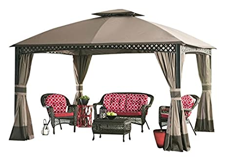 Sunjoy Replacement Canopy Set for 10x12 ft Windsor Gazebo  sc 1 st  Amazon.com : 10x12 canopy replacement - memphite.com
