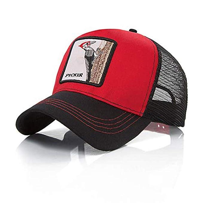Ss - Gorra de béisbol - para hombre Woodpecker Talla única: Amazon ...