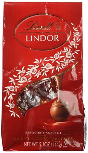 Lindt Lindor Milk Chocolate Truffle Ball, 5.1 Ounce