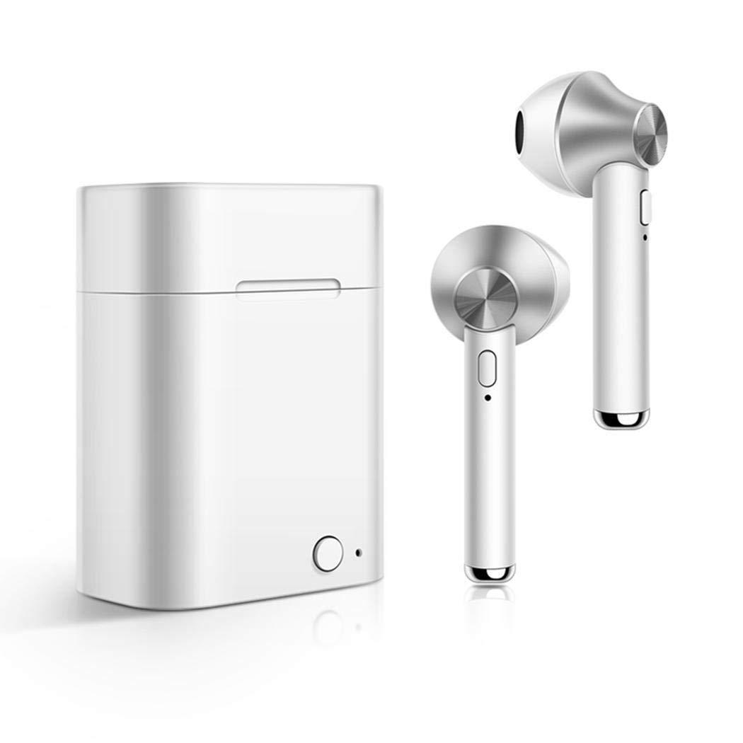 LIOPIO Auricolari Auricolari per Cuffie Wireless Bluetooth con Scatola di Ricarica Cuffie Bluetooth