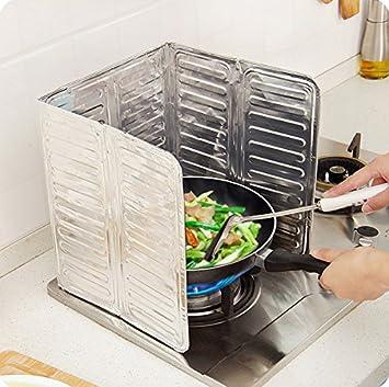 Dosige 1 Stück Öl-Spritzschutz Küche/Spritzschutz Gasherd/Öl ...