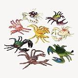 Plastic Toy Crabs 1 Dozen