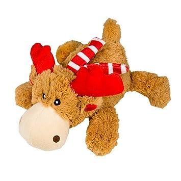 Kong Holiday Cozie: reno de peluche para perro