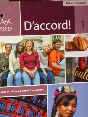 D'accord 1 Cahier D'activities