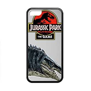 The Lost World Movie Personalized Custom Jurassic Park Black For Ipod Touch 4 Phone Case Cover