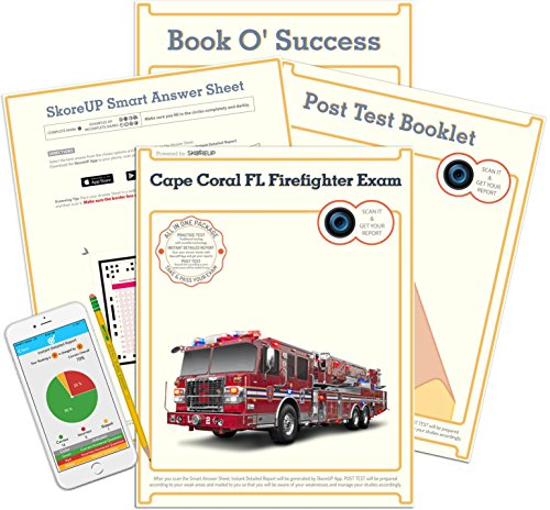 Cape Coral FL Firefighter Exam, Florida Fire Fighter Test Prep, Study Guide