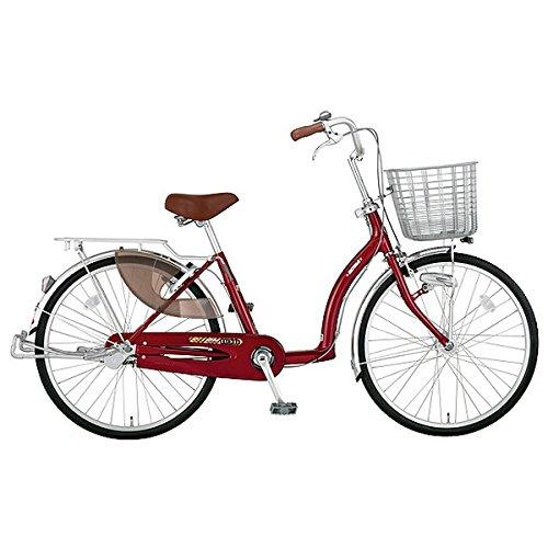 ミヤタ(MIYATA) シティサイクル 自転車 ラックル DL40L7 (OR72) ネオシャドーレッド B077NW27BZ