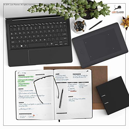 Amazon.com: Agenda diaria de 8,5 x 11, calendario y libro de ...