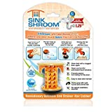SinkShroom The Revolutionary Sink Drain Protector Hair Catcher/Strainer/Snare, Orange