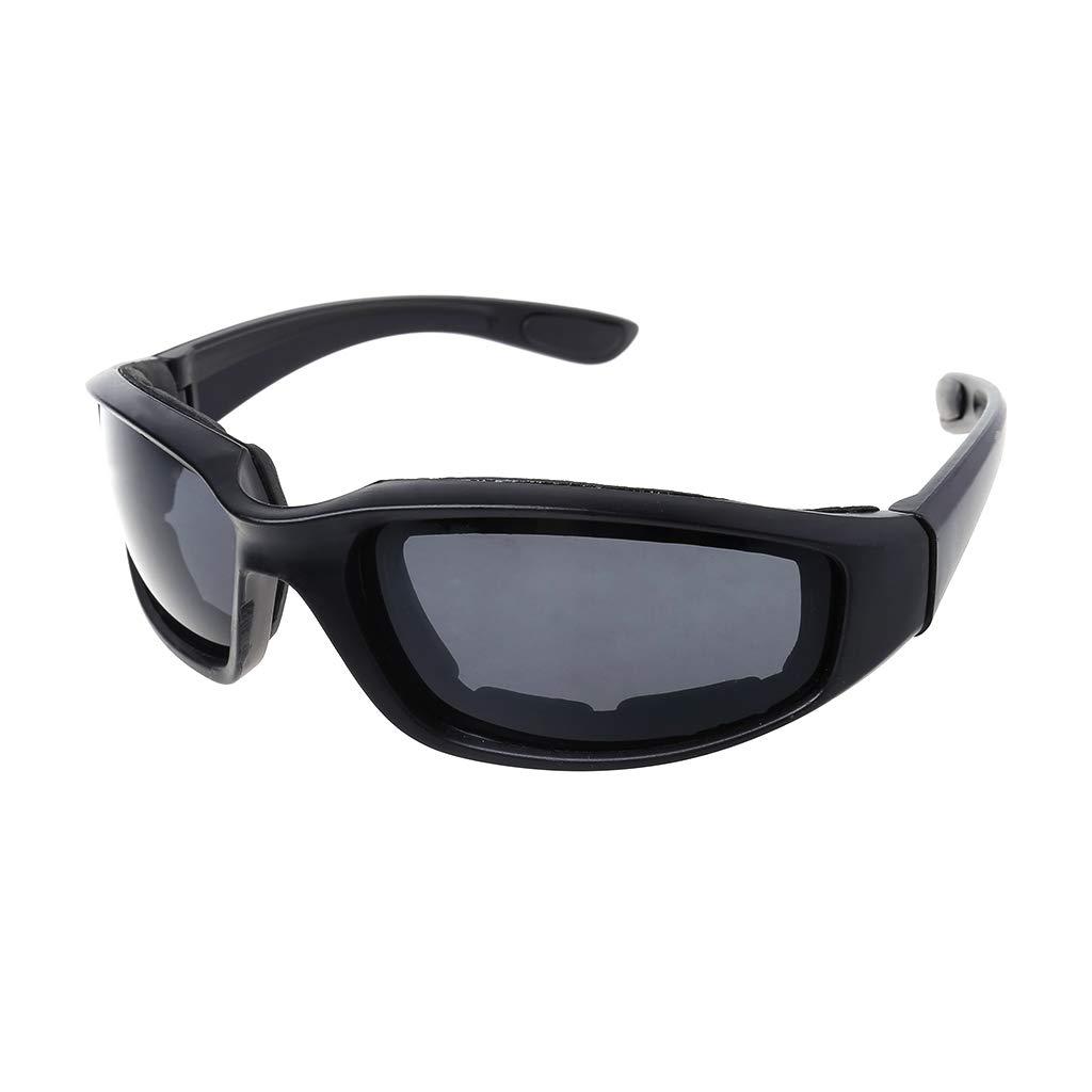 Motorrad Sonnenbrille,Winddicht Polarisierte Motorrad Objektiv Sonnenbrille Reiten Radfahren Biker Sport Wrap f/ür Fahrrad Moto Wandern Outdoor Sport