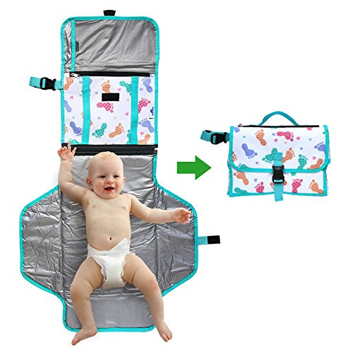 portable-changing-station-for-infants-and-babies-bonus-clutch-with-storage-space-for-diapers-and-wip