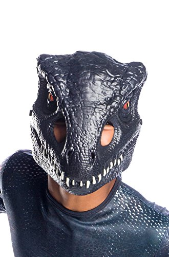 Rubies Unisex Children Indoraptor Half Mask Costume