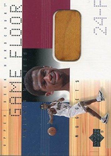 2000-01 Upper Deck Hardcourt Game Floor #MC-F Antonio McDyess NM-MT GU Nuggets