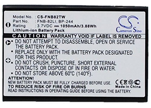 Replacement Battery for Intek KT-950EE,LN-950,Two-Way Radio Battery
