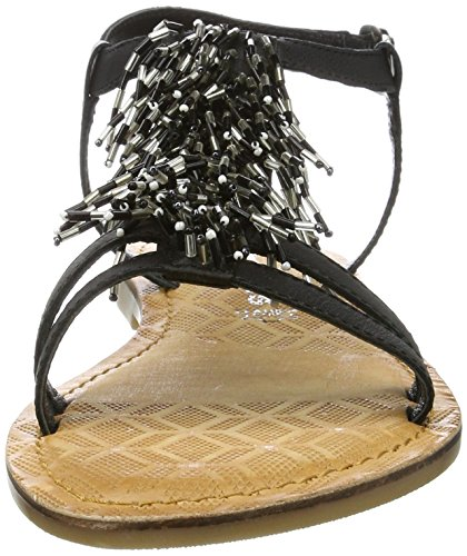 Negro Sandalias Black para Tira Mujer Tamaris con 28158 Vertical PCnxqwA1TU