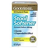 GoodSense Stool Softener Softgels,...
