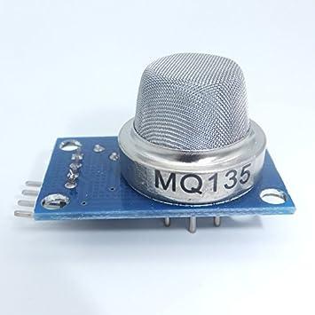 jdhlabstech Módulo MQ135 Sensor De Calidad del Aire detección de NH3 NOX Benceno CO2: Amazon.es: Electrónica