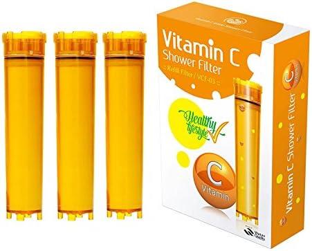 UBS Vitamin-C - cartucho de filtro de ducha Vita Fresh, 127 g ...