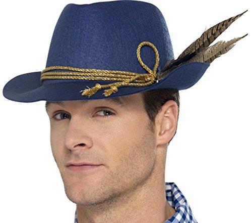 [Smiffy's 45400 Authentic Bavarian Oktoberfest Hat (one Size)] (Oktoberfest Costumes Australia)