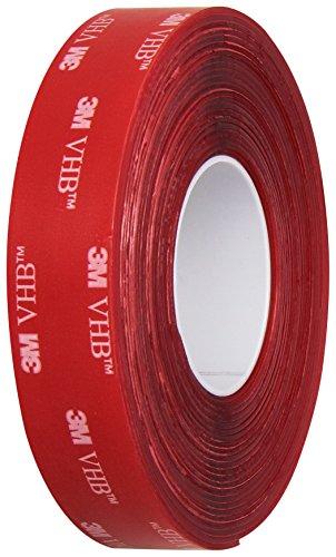 3M VHB Tape 4910, 0.75 in width x 5 yd length