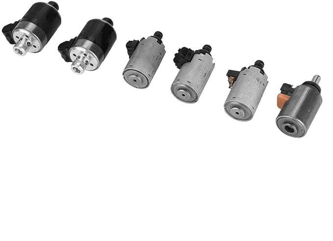 6pcs 722 6 Transmission Solenoid Kits Automatikgetriebe Solenoid Auto