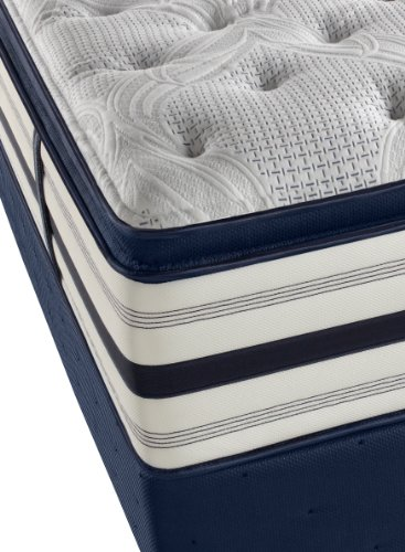 Beautyrest Recharge World Class Manorville Luxury Firm Pillow Top Mattress Set, Queen