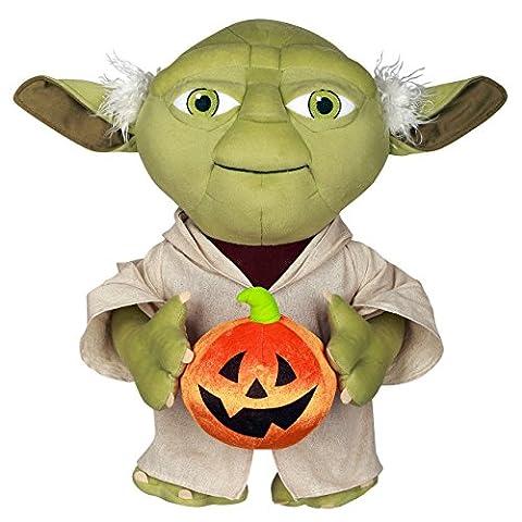 Star Wars Yoda Plush Halloween Porch Greeter (Plush Porch Greeter)