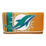 NFL Miami Dolphins Wallet Mesh Organizer Women's Clutch Wallet