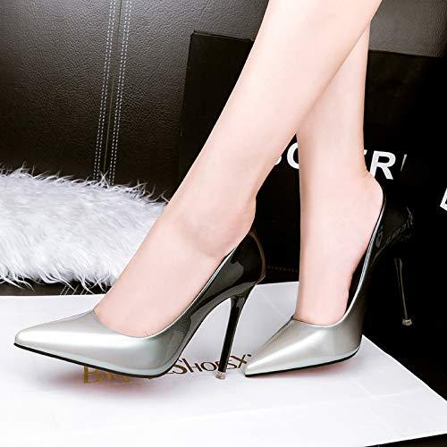 PINGXIANNV Stiletto Stiletto Stiletto High Heel Damenschuhe Flache Schuhe Der Hohen Absatzfrauen 1f3fd9