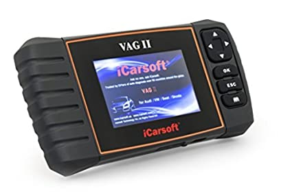 Amazon com: iCarsoft VAG II for VW Audi Seat Skoda Obd2