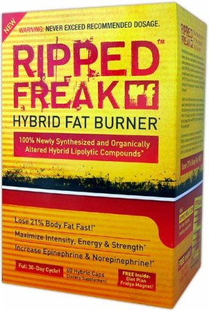 Ripped Freak Burner Fat hybride, capsules, 60 ch