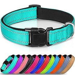 Joytale Reflective Dog Collar,12 Colors,Soft Neoprene...