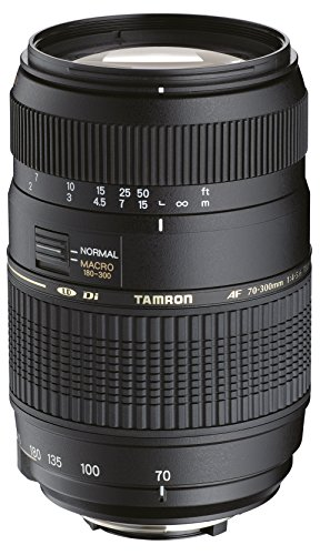 Tamron Auto Focus 70-300mm f/4.0-5.6 Di LD Macro Zoom Lens with Built in Motor for Nikon Digital SLR (Model A17NII) Autofocus Zoom Lens Digital Camera