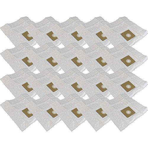 20 sacs d'aspirateur en microfibre non-tissée + 8Filtre de protection moteur Compatible avec pour Triomph etf714