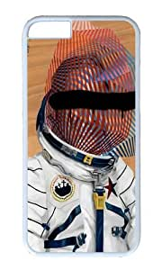 Apple Iphone 6 Case,WENJORS Adorable Spaceman No 2 Hard Case Protective Shell Cell Phone Cover For Apple Iphone 6 (4.7 Inch) - PC White