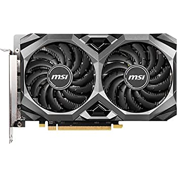 MSI Gaming Radeon RX 5500 XT Boost Clock: 1845 MHz 128-bit 8GB GDDR6 DP/HDMI Dual Torx 3.0 Fans Crossfire Freesync VR Ready Graphics Card (RX 5500 XT MECH 8G OC), Model:
