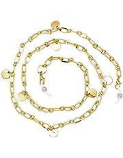 KAI Top Eyeglass Chain Reading Glass Sunglass Neck Strap Holder Women Daily Use