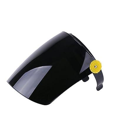 STEAM PANDA Máscara De Soldadura Aislamiento Transparente Resistencia A La Temperatura Máscara De Molienda Soldador Máscara