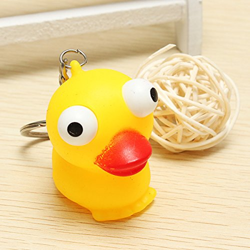 Squeeze Spoof Toy Stress Reliever Toy With Key Chain - 6