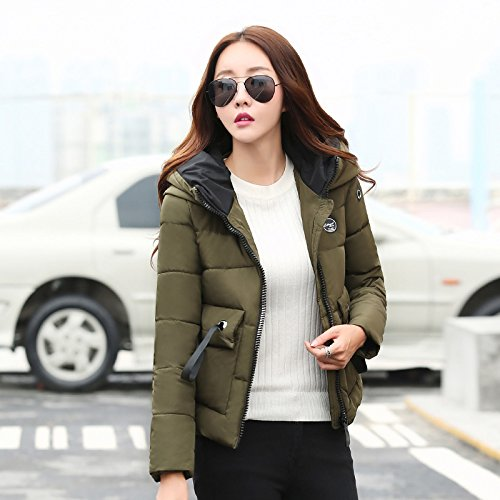 Winter Small Jacket Xuanku Versatile Stream Coat Cotton Cotton Paragraph Winter Female Short ArmyGreen Winter And A Algeria OqYOwgA