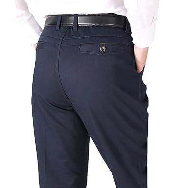 EKU FASHION - Pantalón de Traje - para Hombre: Amazon.es ...