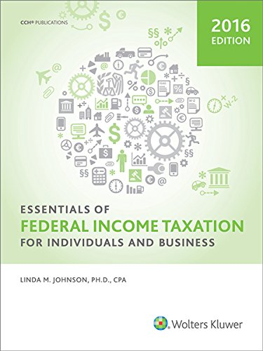 Essentials of Federal Income Taxation for Individuals and Business (2016) -  Johnson, Linda M., Ph.D., Student, Paperback